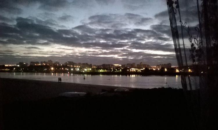 Abendlicher Blick auf Portimao.