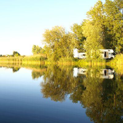 Unser bisher schönster Platz am See