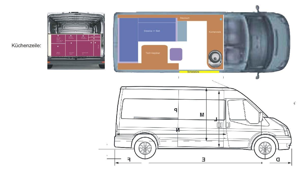 kastenwagen wohnmobil ausbau kastenwagen selbst ausbauen. Black Bedroom Furniture Sets. Home Design Ideas
