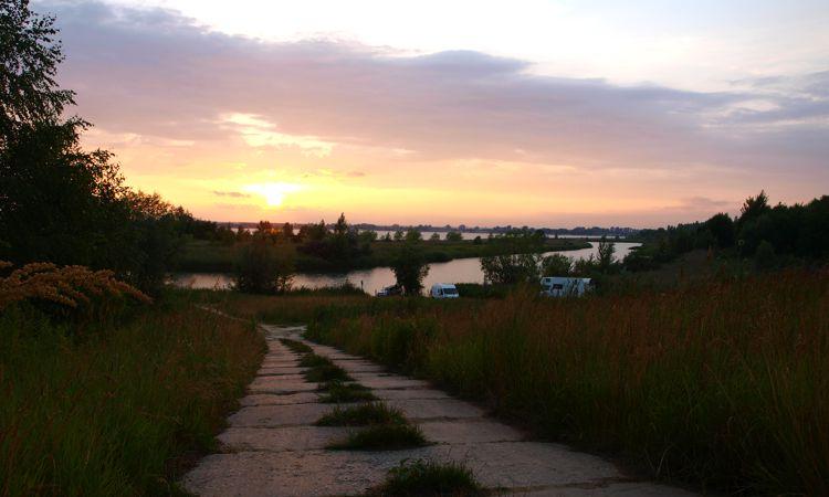 Am See von Tarnobrzeg