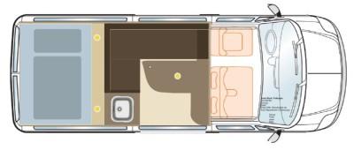 Wohnmobilausbau planen Grundriss