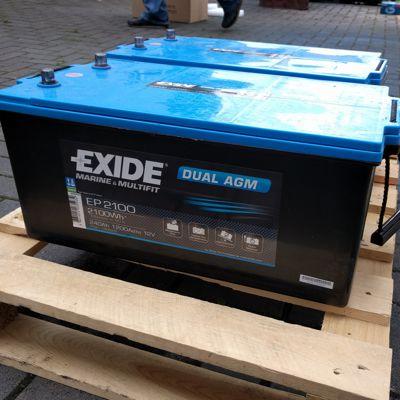 Wohnmobilbatterie agm 200ah