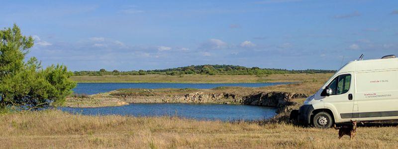 Barragem do Roxo Wohnmobil