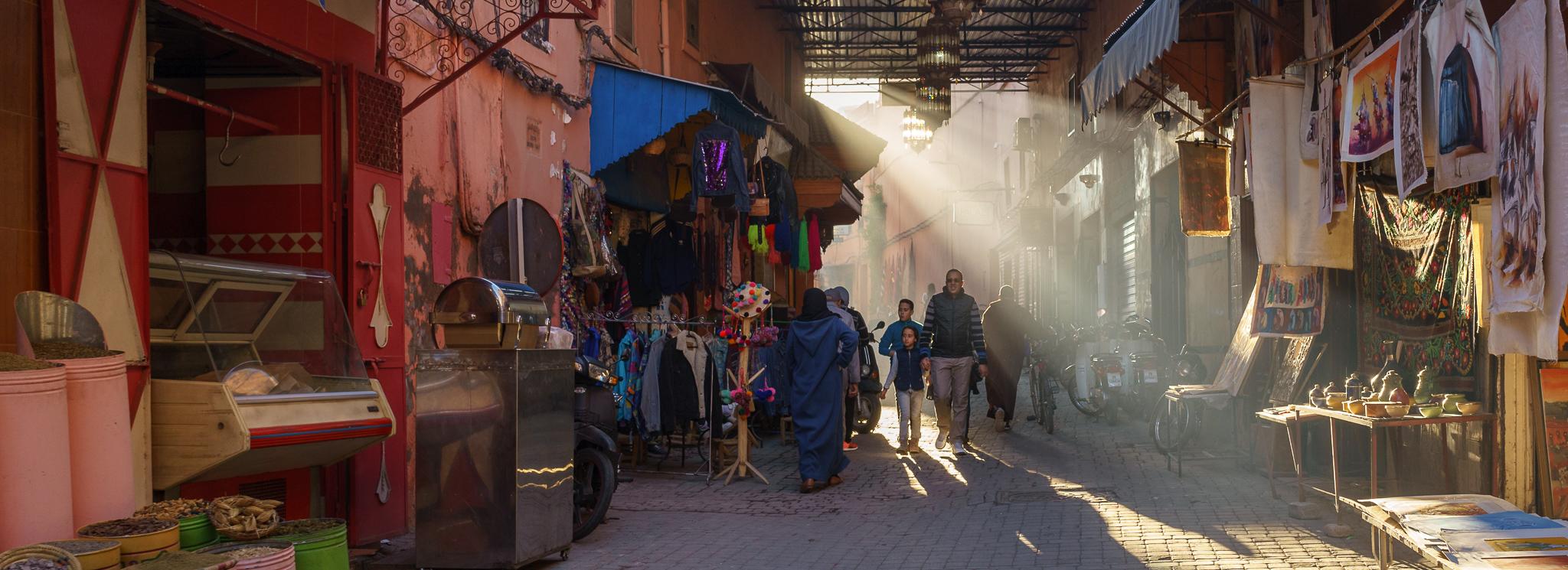 Ein Besuch in Marrakesch.