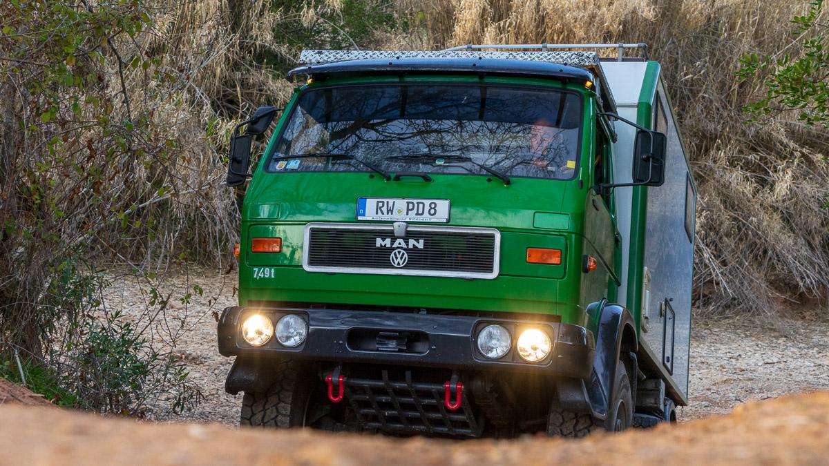 MAN G90 Allrad Wohnmobil bis 7,5t