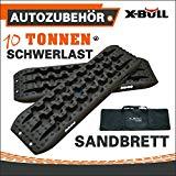 X-BULL Sand-Board FÜR Sand, Schlamm, Schnee, Gras-Schwarz