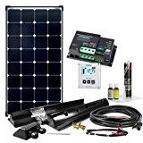 Offgridtec Solaranlage für Wohnwagen Komplett-Set für Wohnmobil mit MPPT Laderegler, 12 V, 100 W, 005285