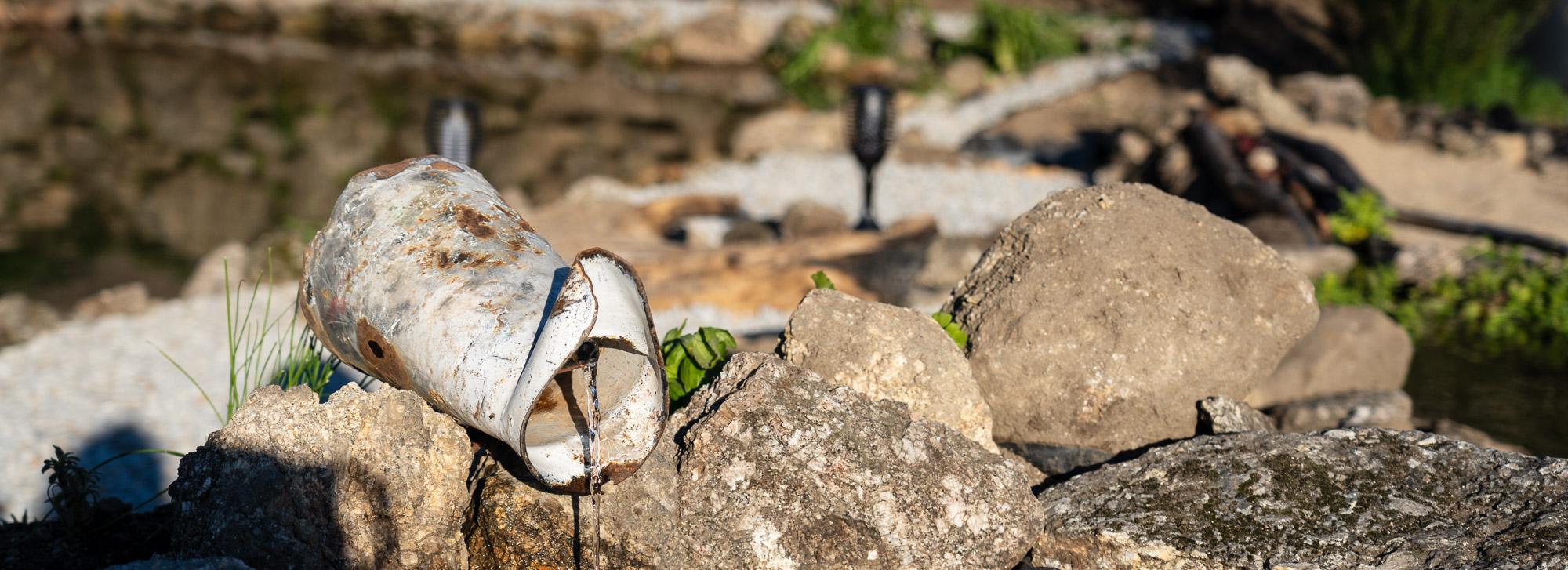 Quinta Prazera | Wasserlandschaften und Dürre im März