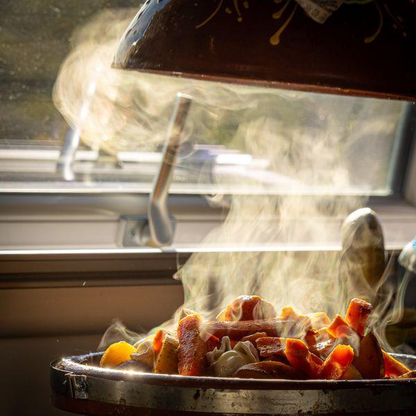 Tajine marokkanisch kochen im Wohnmobil