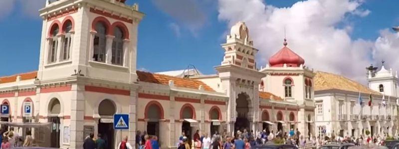 Loulé Algarve Markthalle