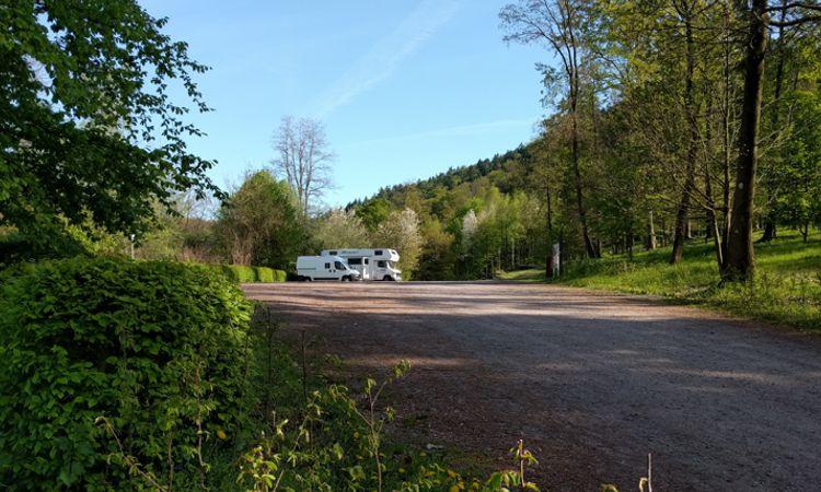 Toller Übernachtungsplatz in der Pfalz