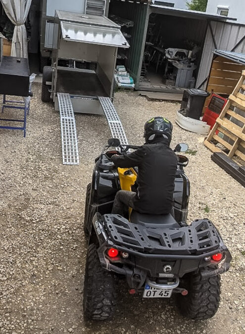 Can-Am Outlander Allrad ATV