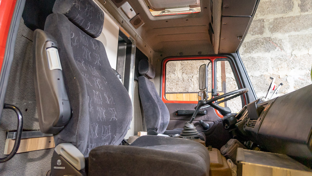 Lkw Sitze mit Luftfederung Sitzheizung