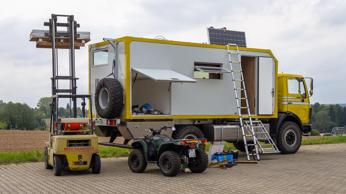 Stromversorgung Wohnmobil Batterien