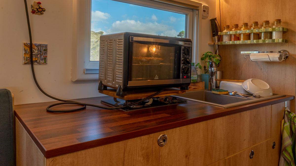 Backofen - Backen in der Wohnmobil Küche