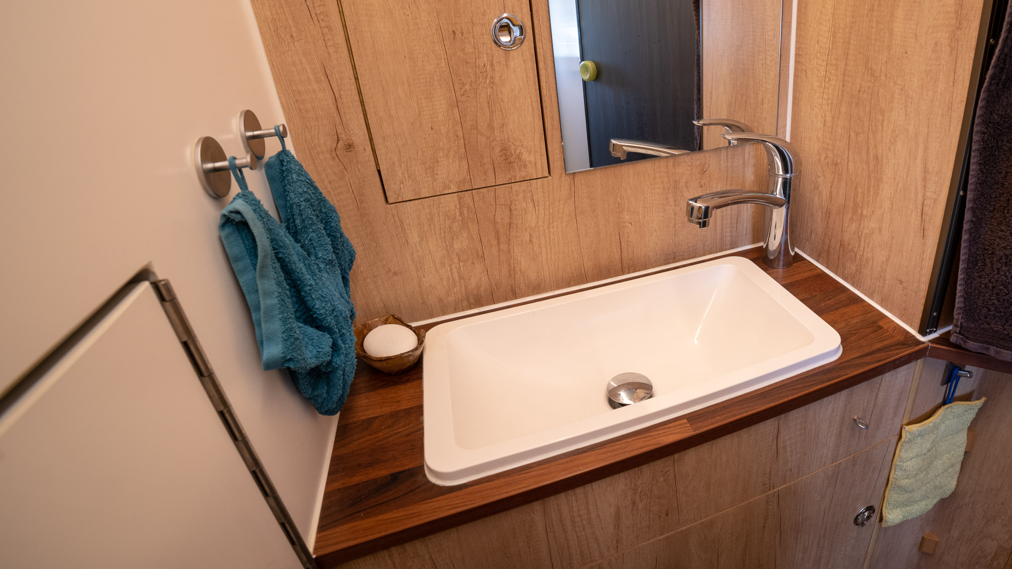 Waschplatz Wohnmobil
