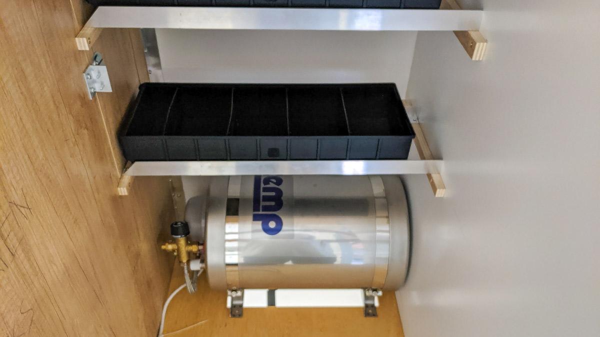 Warmwasserboiler 24V Diesel Wohnmobil Badezimmer