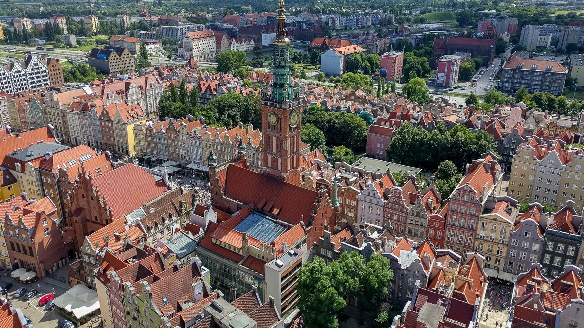 Besuch in Danzig an der polnischen Ostsee