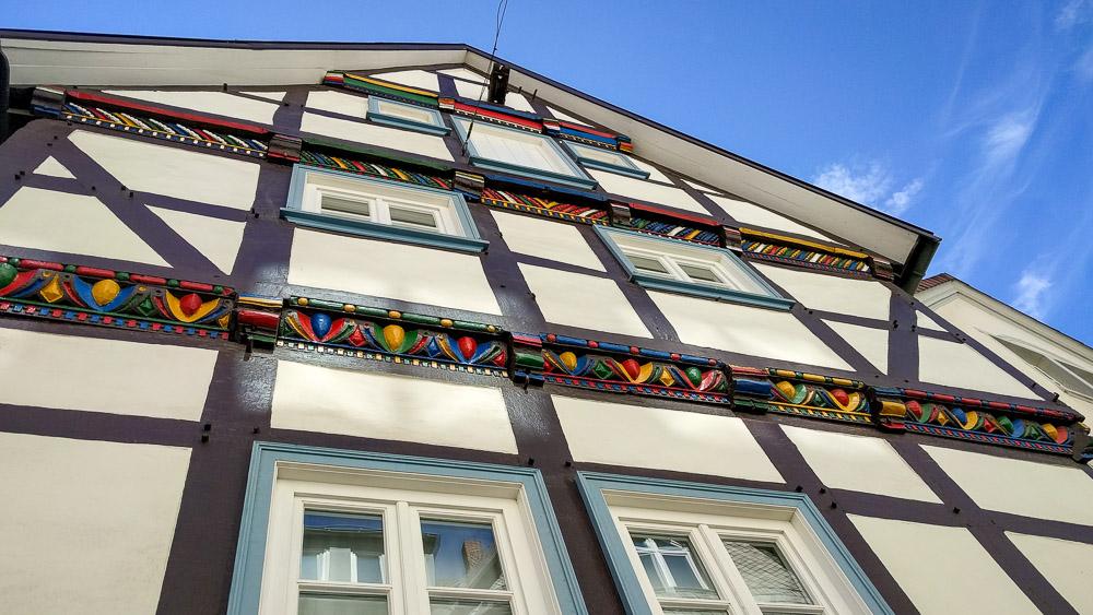 Deutschland Wohnmobiltour alte Städte