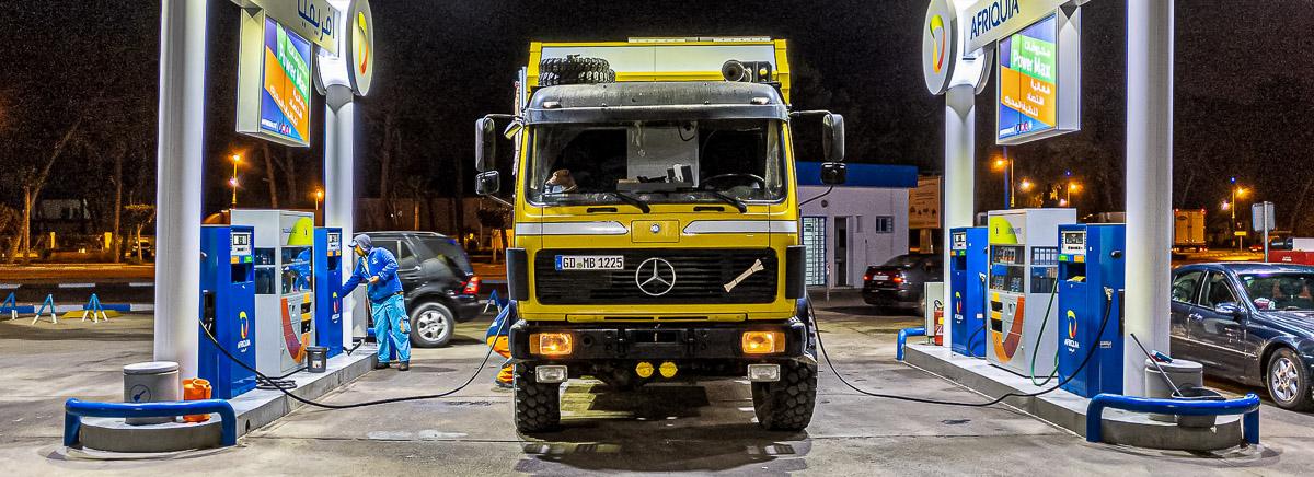Große Dieseltanks: die 900 Liter Spardose