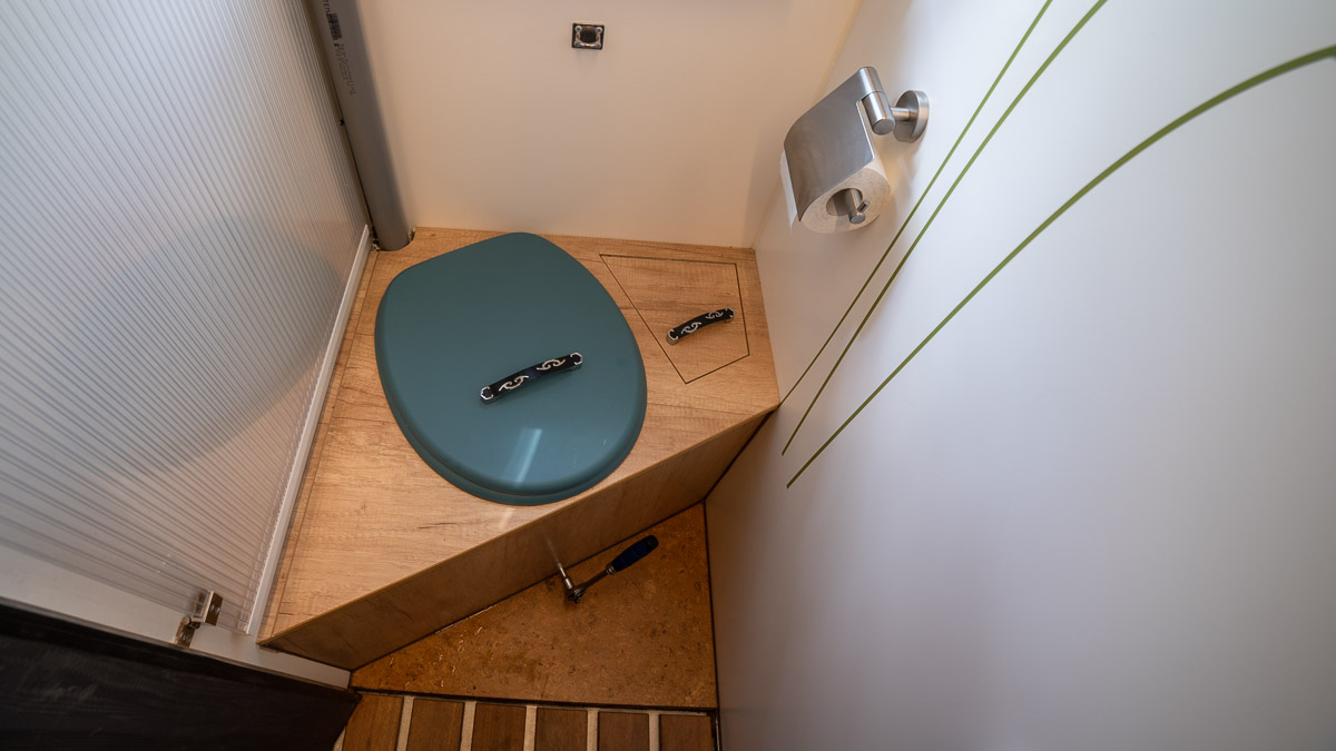 DIY Komposttoilette im Wohnmobil