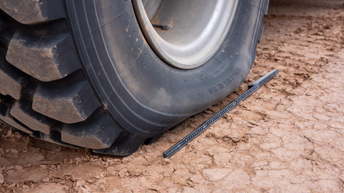 Wohnmobil geländegängig: Reifen Luft ablassen