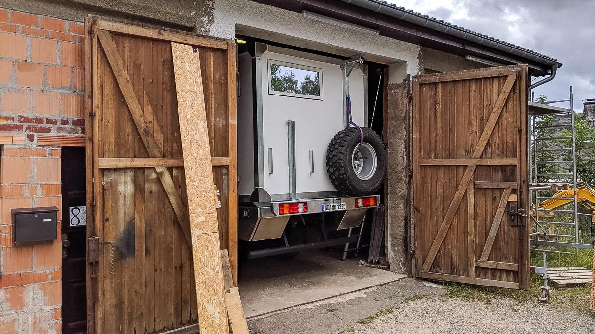 Ausbau Allrad Wohnmobil startet