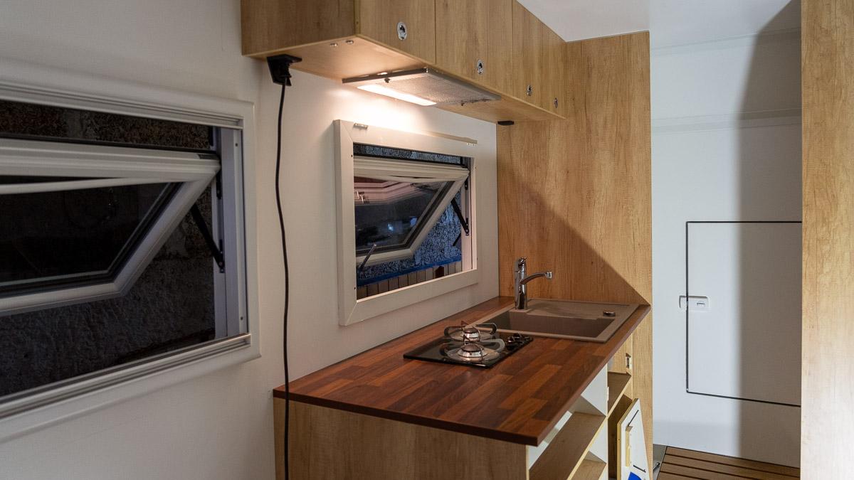 Innenausbau Küche Wohnmobil