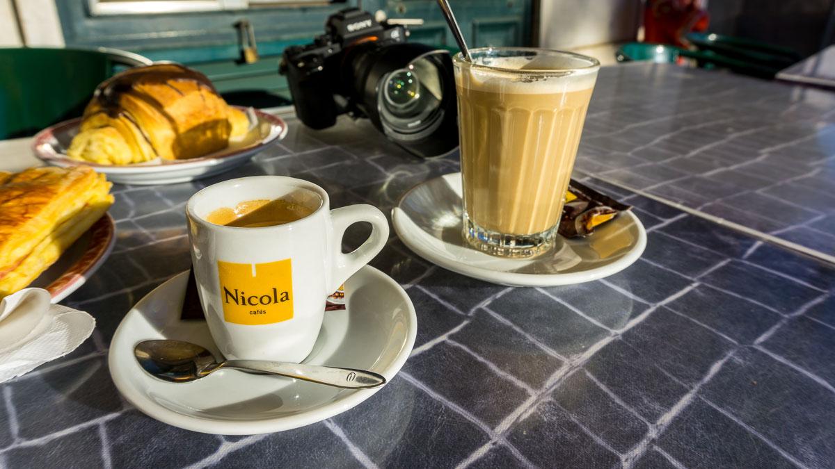 Typisch portugiesischer Kaffee