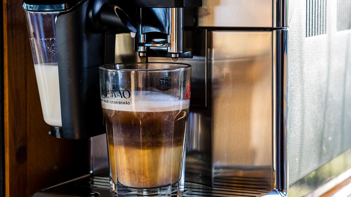 Kaffeeautomat im Wohnmobil