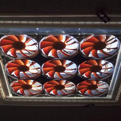 Klimaanlage Dachlukenventilator DIY