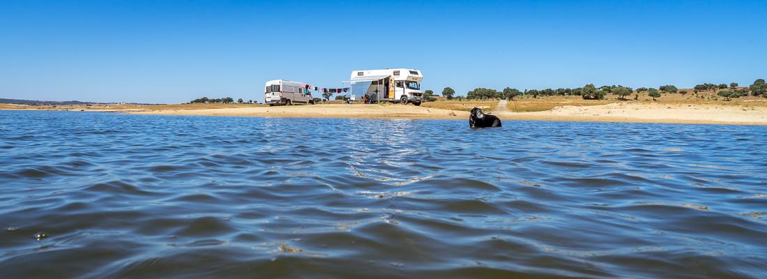 Ohne Klimaanlage im Wohnmobil bei 40 Grad – Camping für Fortgeschrittene