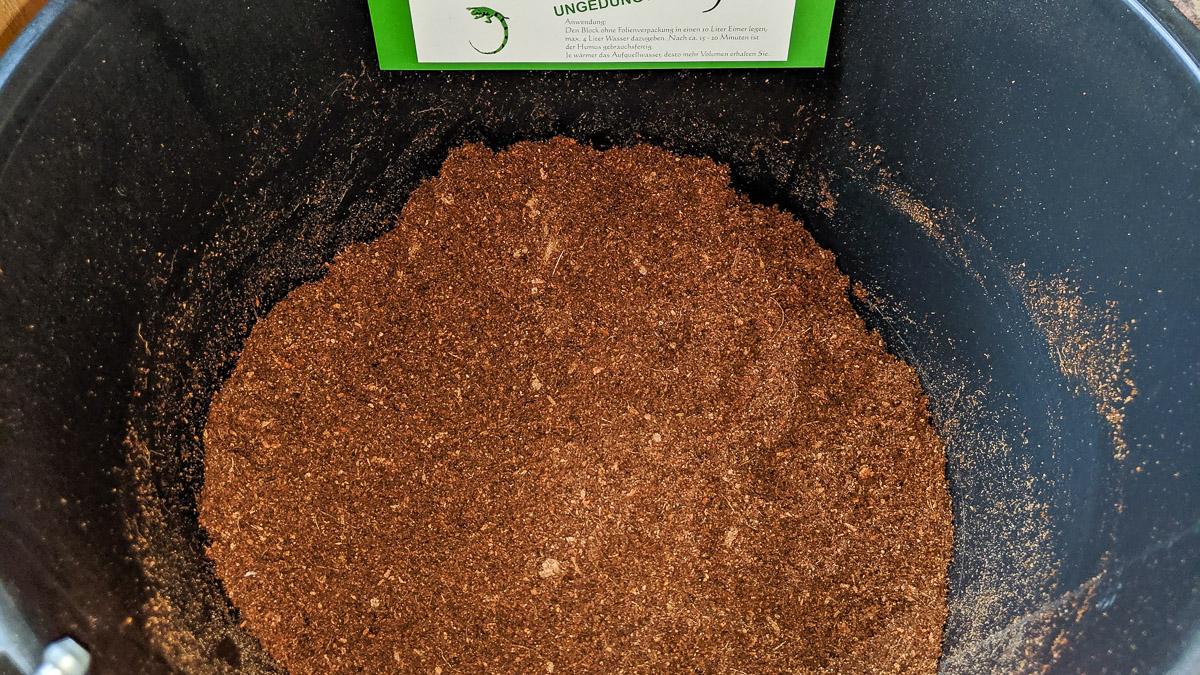 Komposttoilette Kokosfaser