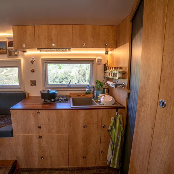 Wohnmobil Küchenblock