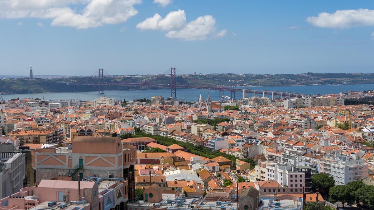 Lissabon, die Hauptstadt von Portugal