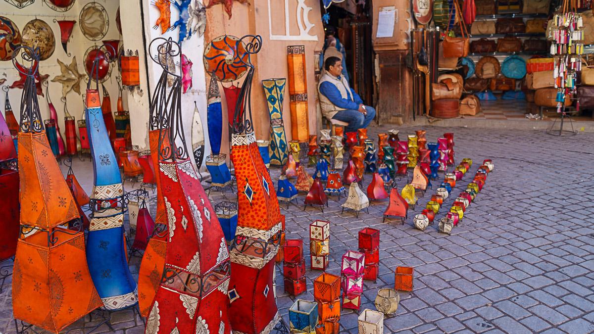 buntes Marokko