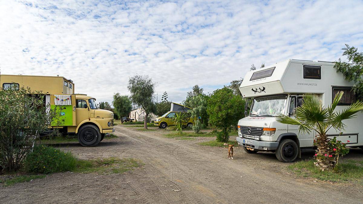 Marokko Wohnmobil Campingplatz