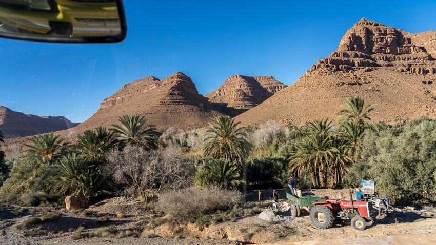 Ziz Tal in Marokko