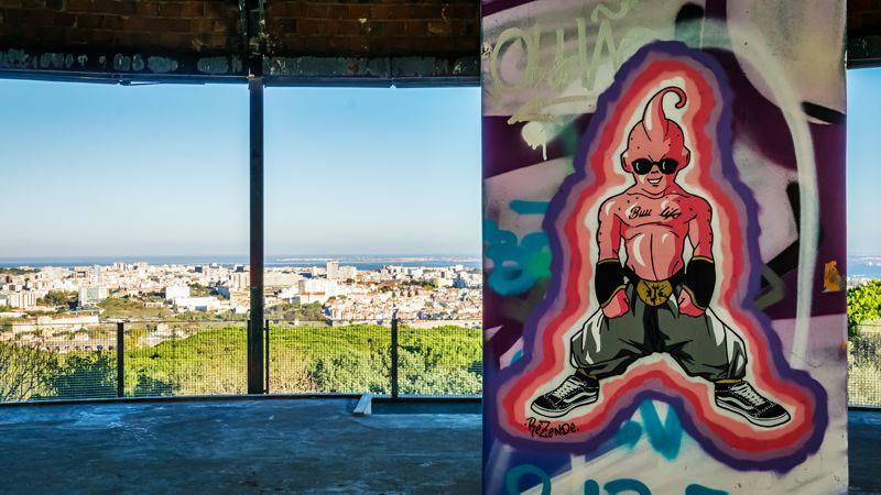 Aussichtspunkt Monsanto, Blick über Lissabon
