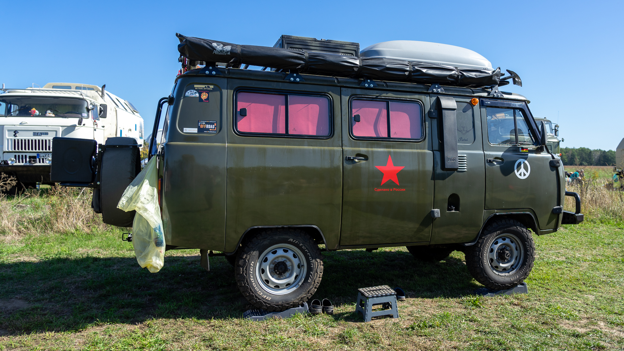 Kompakter Offroad Camper bis 3,5t