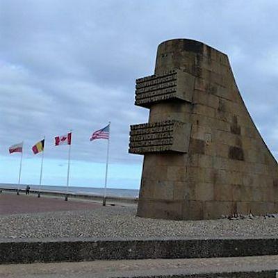 Omaha Beach, D-Day Denkmal