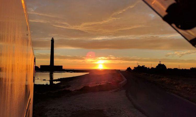 Sonnenaufgang am Phare de Gatteville