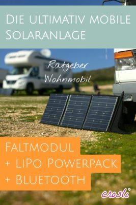 Mobile Solaranlage für Camping / Wohnmobil