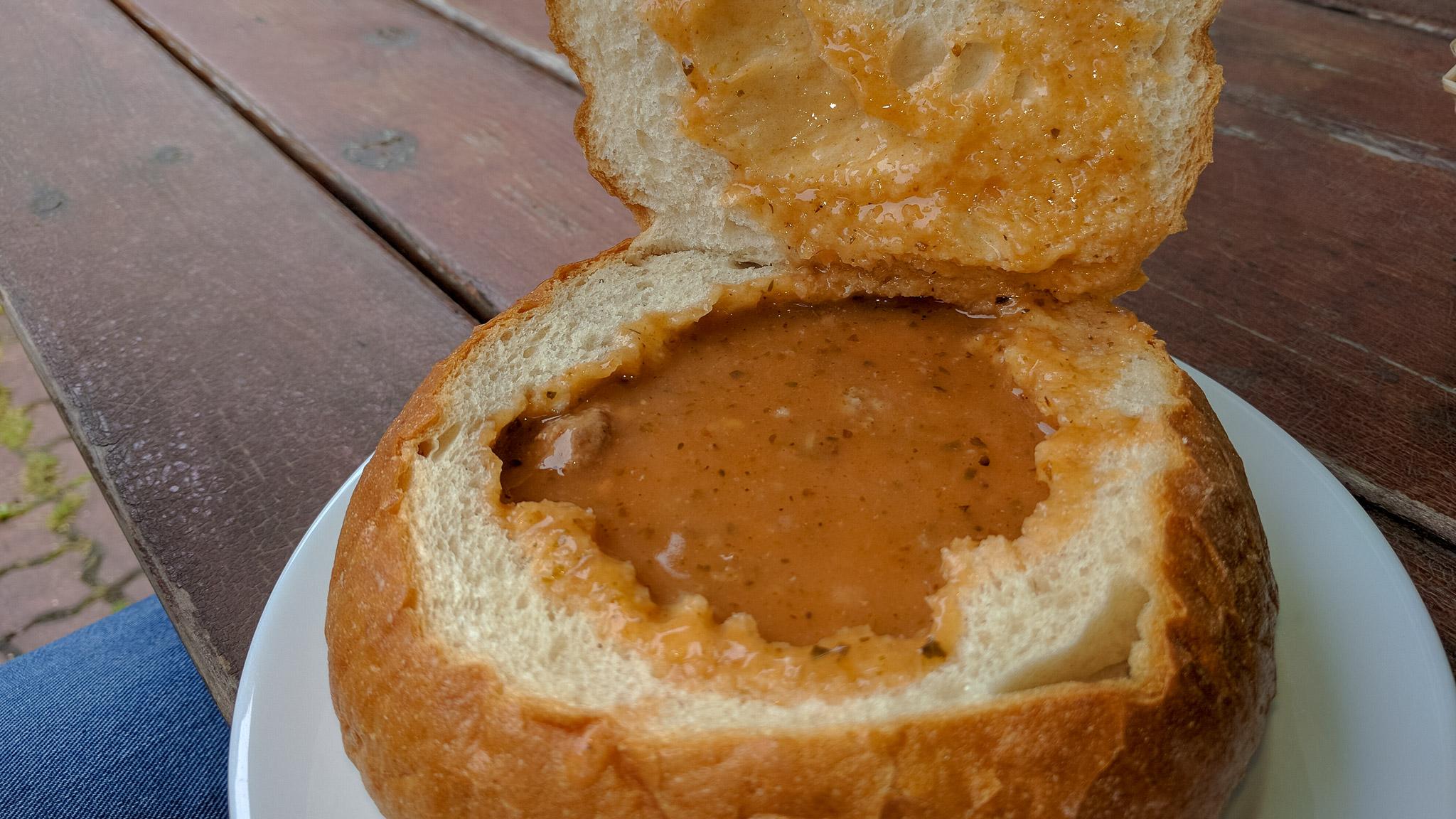 Polnische Brotsuppe