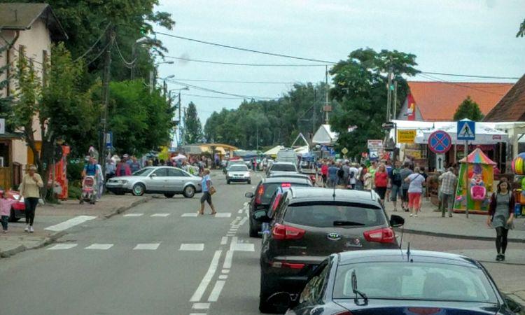 Wochenende an der Ostsee: Unlustige Ortsdurchfahrten