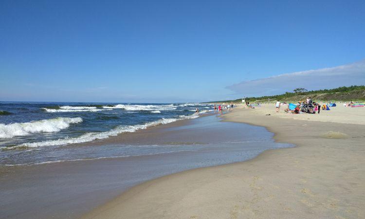 Polnische Ostseeküste im Juli