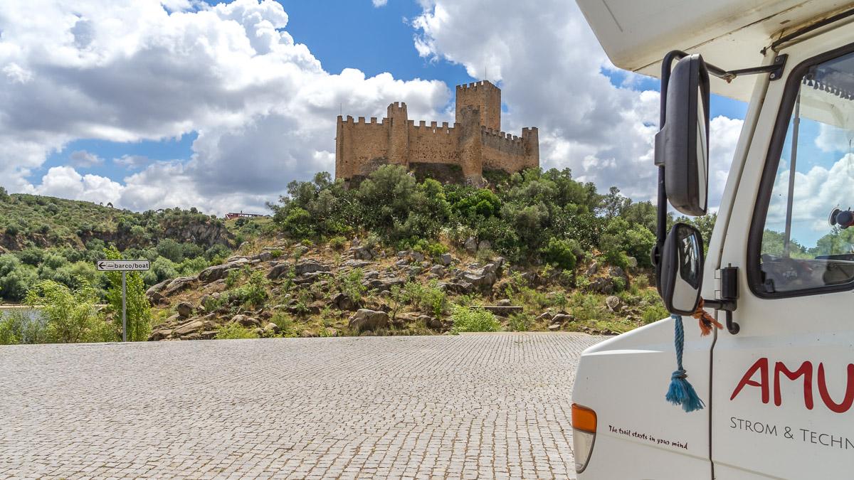 Sightseeing in Portugal mit dem Wohnmobil