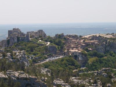 Wandern Provence: Les Baux / Alpilles
