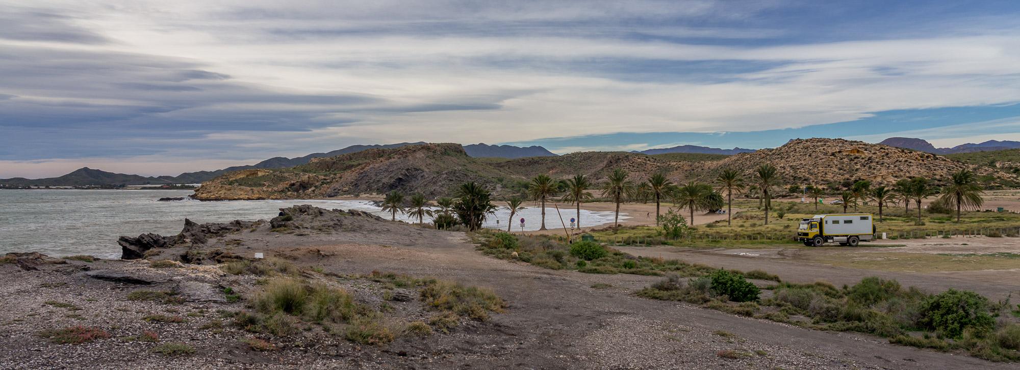 Costa Blanca bis Aguilas und weiter: Hügel, Hunde, Strände & Pisten