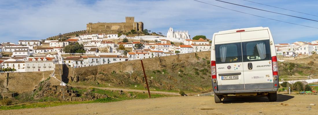 Von Castro Verde bis Mértola: 99km in 2 Wochen